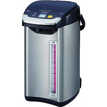タイガー 魔法瓶 電気 ポット 5L ブラック 蒸気レス 節電 VE 保温 とく子さん PIE-A500-K Tiger