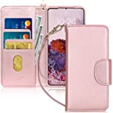 FYY Samsung S20 Case, [Kickstand Feature] Luxury PU Leather Wallet Case Flip Folio Cover with [Card Slots] and [Note Pockets]
