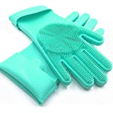 Solidscrub Magic Silicone Gloves Scrubbing Gloves for Dishes, 9.4 Ounce