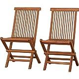 折りたたみ椅子 折りたたみチェア 折り畳み 椅子 2脚セット ガーデン ガーデニング 幅47 高さ88.5 おしゃれ 木…