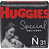 Huggies Special Delivery Hypoallergenic Baby Diapers, Size Newborn, 31 Ct