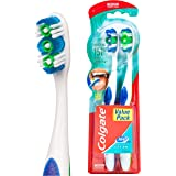 Colgate 360° Whole Mouth Clean Compact Head Toothbrush Medium, 2pk