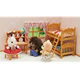 Sylvanian Families 5338 Children's Bedroom Set Accessories
