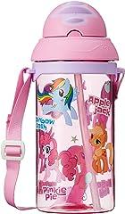 My Little Pony 01597-14 Pop Straw Water Bottle, 400ml Pink