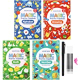 Magic Practice Copybook for Kids - Calligraphy Workbook Set That Can Be Reused,Reusable Tracing Workbook for Preschoolers Kid