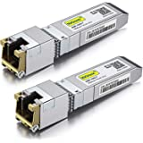 10GBase-T SFP+ Transceivers, 10G T, 10G Copper, RJ-45 SFP+ CAT.6a, up to 30 Meters, Compatible with Cisco SFP-10G-T-S, Ubiqui