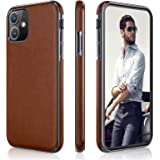 LOHASIC iPhone 11 Case, Slim Thin Business PU Leather Elegant Hybrid Bumper Soft Anti-Slip Scratch Resistant Full Body Protec