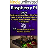 Raspberry Pi: 2020 Beginners' Guide . Everything You Need to Know About Raspberry Pi ( Setup, Programming Theory , Techniques