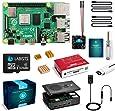 LABISTS Raspberry Pi 4 4GB キット(技適マーク入)MicroSDHCカード32G/Raspbianシステムプリインストール/カードリーダ /5.1V/3A Type-C スイッチ付電源/MicroHDMI-to-HDMIケーブルライン/三つヒートシンク/簡単に取り付けケース/日本語取扱説明書(4GB RAM)