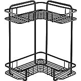 【BLKP】 パール金属 L型 コーナー ラック 限定 ブラック 2段 幅36.0 × 奥行26.0 × 高さ36.0cm キッチン 収納 棚 BLKP 黒 AZ-5058