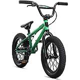 Mongoose Legion Sidewalk Freestyle BMX Bike for Kids, Children and Beginner-Level Riders, Featuring Hi-Ten Steel Frame, Micro