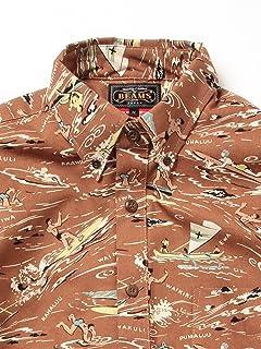 Dale Hope Hawaiian Shirt 11-01-0508-304: Brown