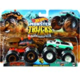 Hot Wheels FYJ64 Monster Trucks Demo Doubles 2-Pack (Styles May Vary)