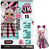 LOL Surprise JK Mini Fashion Doll - 15 Surprises, Clothing & Accessories - for Ages 6 Years & Up - Collectible - Diva