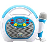 eKids Mother Goose Club Bluetooth Sing Along Portable MP3 Player Real Mic 24 Songs Storesup to 16 Hours of Music 1 GB Built i
