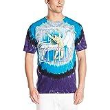 Liquid Blue Mens 11817-Tie Dye-Small Swan Song T-Shirt Short Sleeve T-Shirt