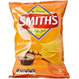 Smith's Crinkle Cut Barbecue Chips, 12 x 170 Grams