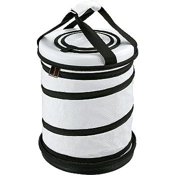 キャプテンスタッグ(CAPTAIN STAG) 保冷バッグ 【折り畳み収納可】 ラウンドコールド クーラーバッグ