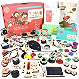 ButterflyEduFields 100 DIY Toys in a Box Science Project Kits - Robots Cars Gun Shooters, Science Experiment Kit Best  Kids G