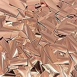 Rose-Gold Foil Metallic Strips Table Confetti Wedding Bachelorette Party Mylar Table Scatter Sprinkles Confetti Engagement Bi