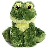 "Aurora 31735 Frolick Frog Stuffed Animal Plush Toy, 8"""