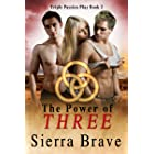 The Power of Three: MMF Bisexual Ménage Saga (Triple Passion Play Book 2)
