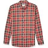 Goodthreads Amazon Brand Men's Long-Sleeve Brushed Flannel Shirt