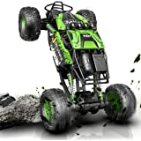 DEVIVAE RC Cars 2059 Remote Control Car for Adults Kids, 1:12 Scale 15Km/h All Terrain Monster Trucks 4WD Off-Road 2.4GHz Roc