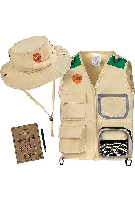 Storybook Wishes Kids Multi-Pocket Adjustable Army Combat or Safari Explorer Vest