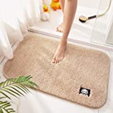 BDUCK Luxury Bath Mat Size 50x60cm Super Absorbent Water,Non-Slip,Machine-Washable,Soft, Shaggy and Cozy,Thick Modern for Bat