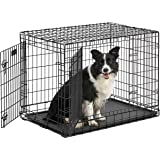 Midwest Ultima Pro (Professional Series & Most Durable Dog Crate) | Extra-Strong Double Door Folding Metal Dog Crate w/Divide