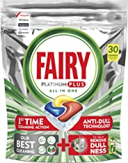 Fairy Platinum Plus Dishwasher Tablets Lemon 30 Tablets