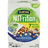 NUT-rition Wholesome Nut Mix, 7.5 oz Box (Contains 7 Individual Pouches) - Cashews, Almonds and Macadamias Snack Mix - No Art