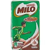 Milo UHT Chocolate Malt Packet Drink 10x4x125ml (Carton), 40 Count