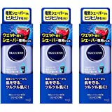 【3個セット】サクセス ウェット剃りシェーバー専用ジェル 180g×3個