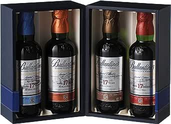 スコッチ ウイスキー バランタイン 17年 ディスティラリーコレクション [イギリス 200ml×4本 ]