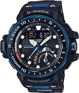 [カシオ] 腕時計 ジーショック ガルフマスター 世界6局対応電波ソーラー GWN-Q1000MC-1A2JF ブラック
