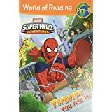 WORLD OF READING SUPER HERO ADVENTURES T