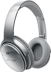 Bose QuietComfort 35 wireless headphones ワイヤレスノイズキャンセリングヘッドホン シルバー