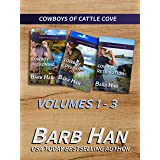 Cowboys of Cattle Cove Volumes 1-3