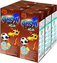 Abbott Grow RTD Chocolate Milk Formula, 6 x 180ml
