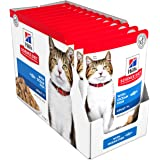Hill's Science Diet Adult 7+ Ocean Fish Senior Wet Cat Food Pouches, 85g, 12 Pack