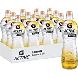 Gatorade G-Active Lemon Flavoured Electrolyte Water, 12 x 600ml