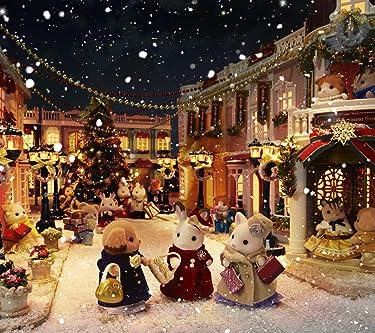 シルバニアファミリー  iPhone/Androidスマホ壁紙(1440×1280)-1 - シルバニアファミリー タウンシリーズ クリスマス