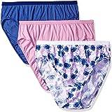 Just My Size Women's 5 Pack Cotton Hi Cut Panty