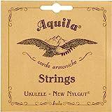Aquila New Nylgut AQ-42 Banjo Ukulele Strings - High G - Set of 4 Strings