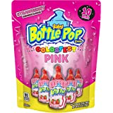 Baby Bottle Pop Individually Wrapped Pink Party Pack –10 Flavored Pink Candy Lollipop Suckers Pink Candy for Celebrations Vir