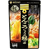 Mizkan Pork Bone & Soy Sauce Hot Pot Soup Straight Type, 750g