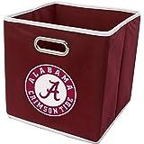 Franklin Sports NCAA College Team Fabric Storage Cubes Made to Fit Storage Bin Organizers (11x10.5x10.5)