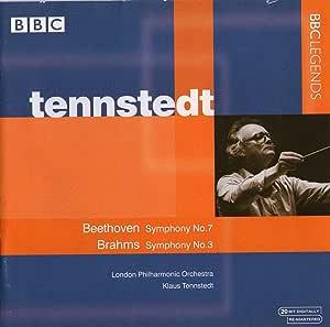 ブラームス:交響曲第3番、ベートーヴェン:交響曲第7番 テンシュテット&LPO(ステレオ)